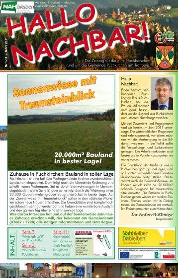 3 / 2011 - Wirtschaft in Puchkirchen