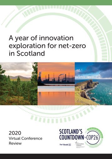 A year of innovation exploration for net-zero in Scotland