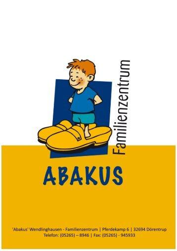 4. Bewegung und Ernährung - Familienzentrum Abakus