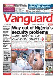 25022021 - Way out of Nigeria's security problems