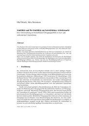 3-2001 beiträge.p65 - Zeitschrift Arbeit