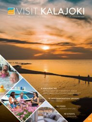 Visit Kalajoki -travel magazine 2021 EN