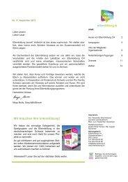 News- letter NEWS - Elternbildung