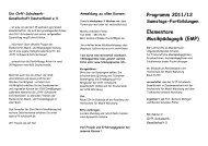 Programm 2011/12 Elementare Musikpädagogik ... - Orff-Schulwerk