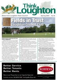Think Loughton No 92 Spring 2021