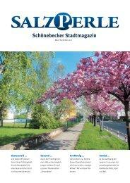 SALZPERLE - Stadtmagazin Schönebeck (Elbe) - Ausgabe 03-05/2021