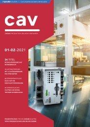 cav – Prozesstechnik für die Chemieindustrie 01-02.2021