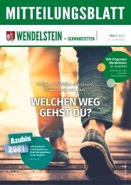 Wendelstein + Schwanstetten - März 2021