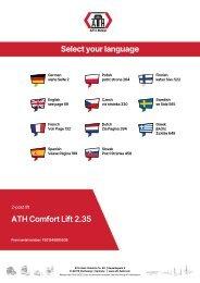 ATH-Heinl Bedienungsanleitung Comfort Lift 2.35 2.40 2.35XL 2.40XL