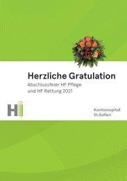 Abschlussfeier HF März 2021