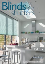 Blinds & Shutters - Issue One 2020