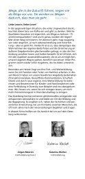 Weiterbildungen Bildungstage Bildungsurlaub ... - Osterberg-Institut