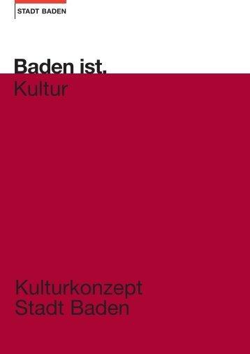 Kulturkonzept [PDF, 2.00 MB] - Baden