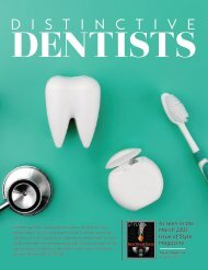 Distinctive Dentists Stand Alone-March 2021