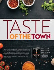 Taste of the Town Stand Alone-March 2021