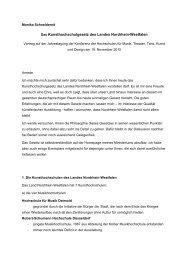 Monika Schneidereit, Referatsleiterin Kunst + Musikhochschulen im ...