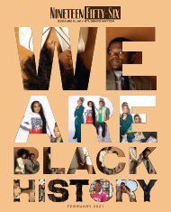 Nineteen Fifty-Six Vol. 1 No. 4 We are Black History