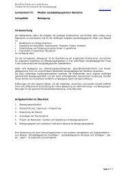 Bewegung - Berufliche Bildung in Hessen