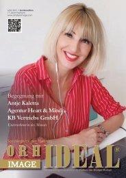 Antje Kaletta KB Vertriebs GmbH im Orhideal IMAGE Magazin März 2021