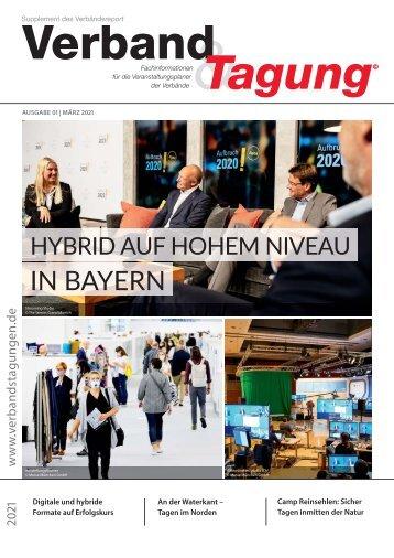 Verband & Tagung - Ausgabe 01 | März 2021