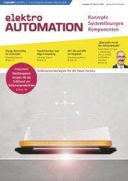 elektro AUTOMATION 01.2021