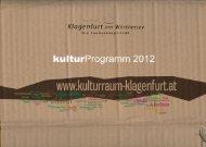 Volkskultur und Brauchtum - Kulturraum Klagenfurt