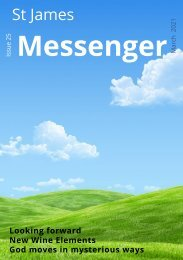 Issue 25 - The Messenger - March 21