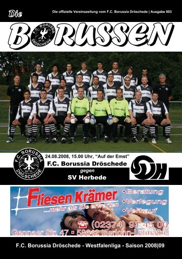 Die Borussen - FC Borussia Dröschede