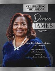 Denice James Memorial Program