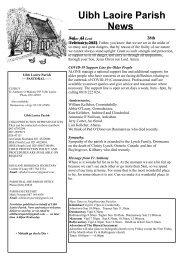 Newsletter 41 - 28th February, 2021