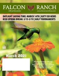 Falcon Ranch March 2021