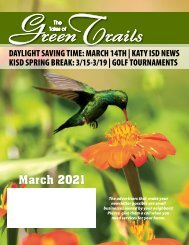 Green Trails 2 March 2021
