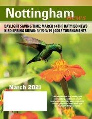 Nottingham March 2021