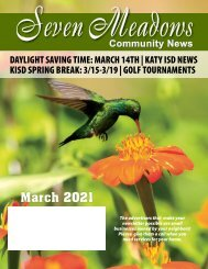 Seven Meadows March 2021