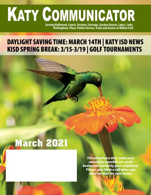 Katy Communicator March 2021
