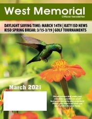 West Memorial March 2021