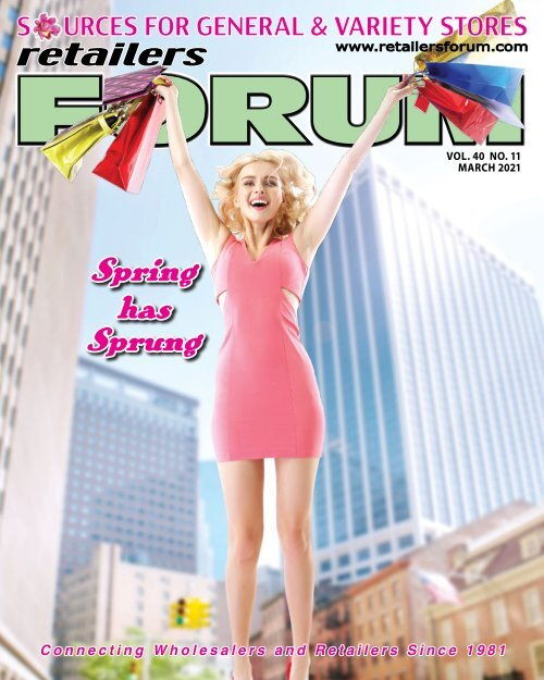 Retailers Forum Magazine March 2021 EMAG