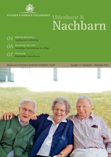 Landes-Seniorenbeirat Hamburg - Die Interessenver - Pflegen und ...