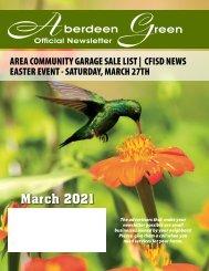Aberdeen Green March 2021