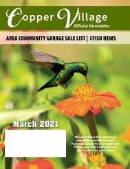 Copper Village March 2021
