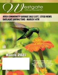 Westgate March 2021