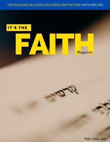 It's the Faith Magazine