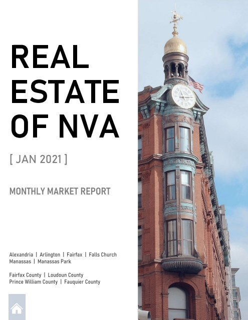 2021-01 -- Real Estate of Northern Virginia Market Report - January 2021 Real Estate Trends - Michele Hudnall