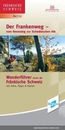 Der Frankenweg - Die Fränkische Schweiz