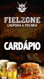 Cardapio Choperia Fizleone