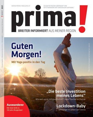 Prima Magazin - Ausgabe März 2021