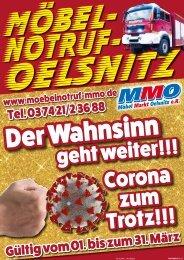 Aktuelle Werbung - Möbelmarkt Oelsnitz