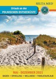 Zusatzkatalog - Urlaub an der Polnischen Ostsee 2021