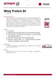 Whey Protein 94 - Sponser