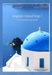 The Greek Islands [Mykonos, Paros, Santorini]